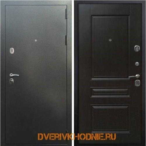 Металлическая входная дверь Рекс 5 ФЛ-243 Венге
