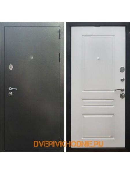 Металлическая входная дверь Рекс 5 ФЛ-243 Ясень белый