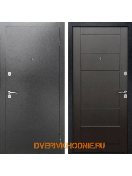 Металлическая входная дверь Рекс City Венге
