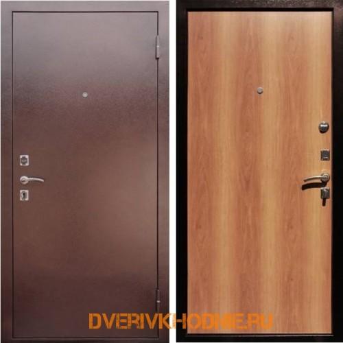 Металлическая входная дверь Рекс Эконом Миланский орех
