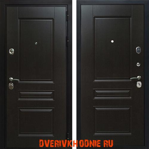 Металлическая входная дверь Рекс Премиум-Н Венге