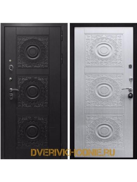 Металлическая входная дверь Рекс 10 Сосна белая