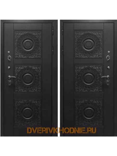 Металлическая входная дверь Рекс 10 Венге