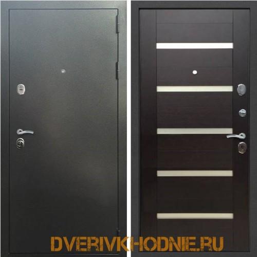 Металлическая входная дверь Рекс 5 СБ-14 Венге