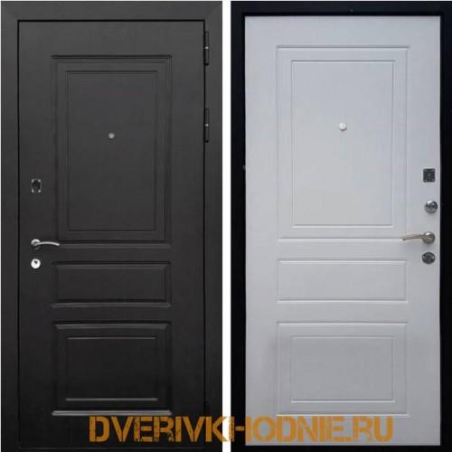 Металлическая входная дверь Рекс 6 Ясень белый