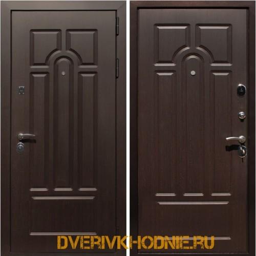 Металлическая входная дверь Рекс Эврика Венге