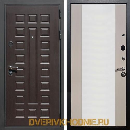 Металлическая входная дверь Рекс Премиум 3 CБ-16 Лиственница беж