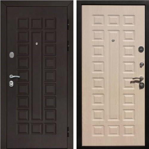 Металлическая входная дверь Рекс Сенатор Беленый дуб