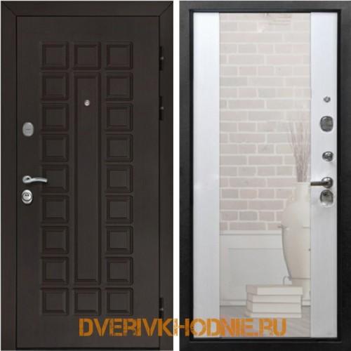 Металлическая входная дверь Рекс Сенатор СБ-16 Лиственница белая