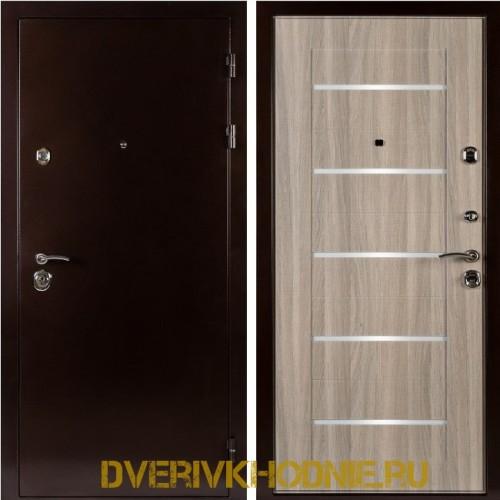 Металлическая входная дверь Shelter ЛОНДОН (L-5) Медный антик