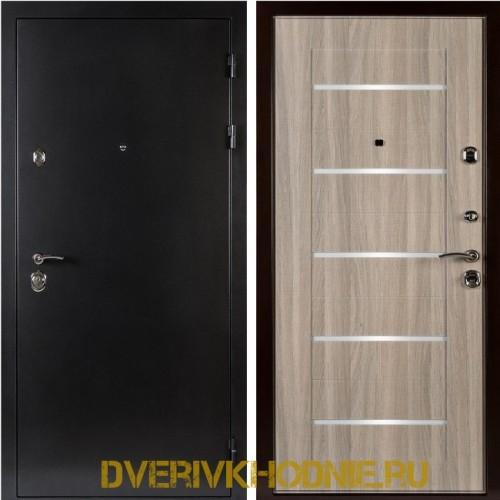 Металлическая входная дверь Shelter ЛОНДОН (L-5) Антик темное серебро