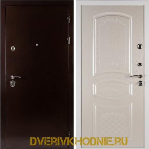Металлическая входная дверь Shelter ДРЕЗДЕН  (Византия)  Медный антик