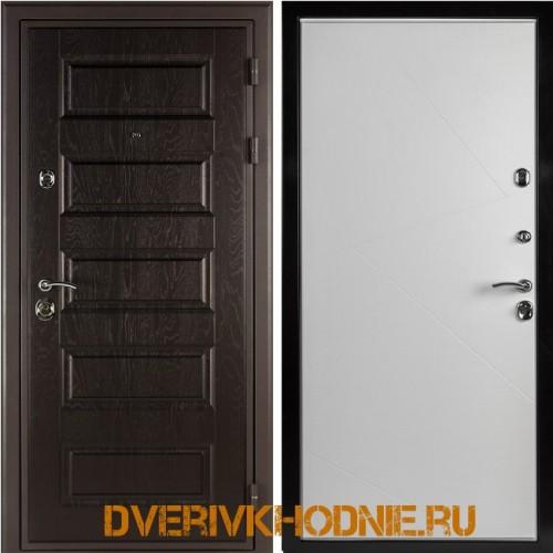 Металлическая входная дверь Shelter ВЕРОНА (Z-9) Горький шоколад