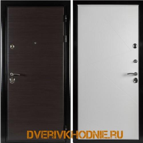 Металлическая входная дверь Shelter ВЕРОНА (Z-9) Венге горизонт