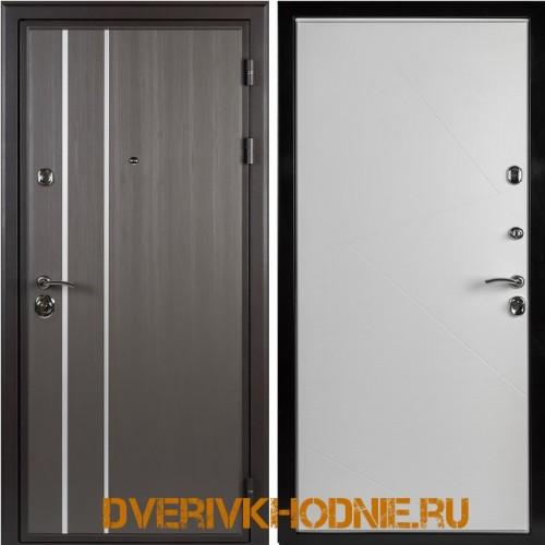 Металлическая входная дверь Shelter ВЕРОНА (Z-9) Реалвуд графит