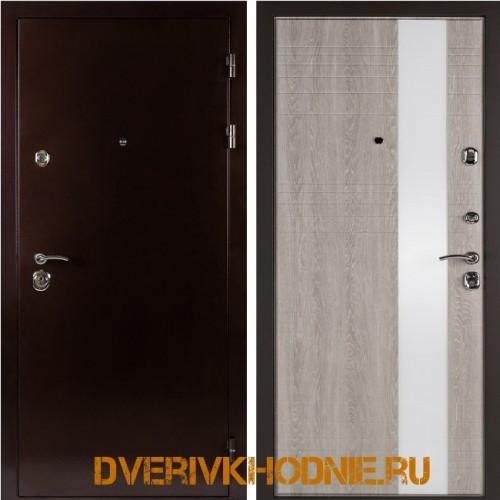 Металлическая входная дверь Shelter ЛИВЕРПУЛЬ 2 (Роял-L)  Медный антик