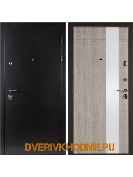 Металлическая входная дверь Shelter ЛИВЕРПУЛЬ 2 (Роял-L) Антик темное серебро