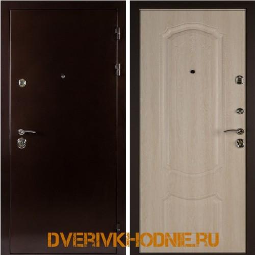 Металлическая входная дверь Shelter ГАМБУРГ (Донато-5)  Медный антик