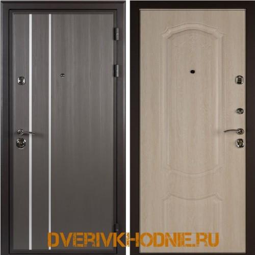 Металлическая входная дверь Shelter ГАМБУРГ (Донато-5)  Реалвуд графит
