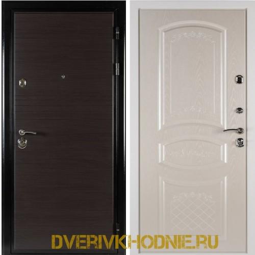 Металлическая входная дверь Shelter ДРЕЗДЕН  (Византия) Венге горизонт