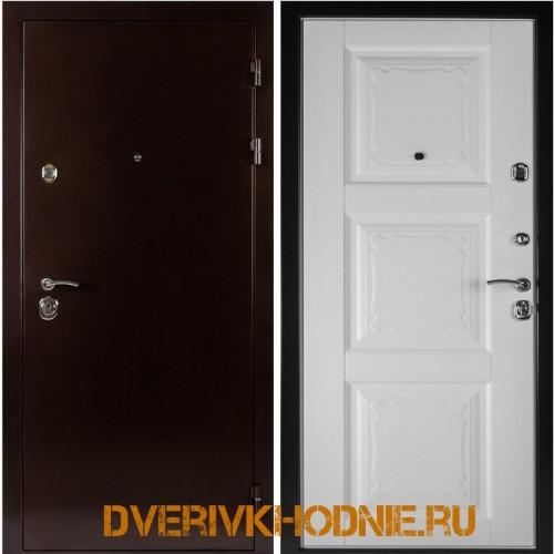 Металлическая входная дверь Shelter ОРЛЕАН (Паола-3)  Медный антик