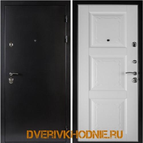 Металлическая входная дверь Shelter ОРЛЕАН (Паола-3)  Антик темное серебро