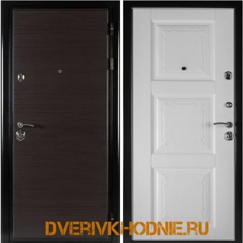 Металлическая входная дверь Shelter ОРЛЕАН (Паола-3)  Венге горизонт