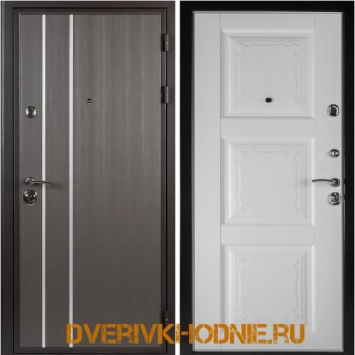 Металлическая входная дверь Shelter ОРЛЕАН (Паола-3) Реалвуд графит