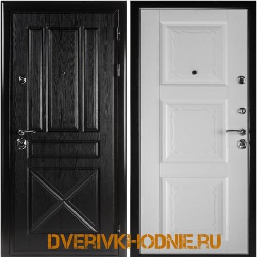 Металлическая входная дверь Shelter ОРЛЕАН (Паола-3)  Плантан черный
